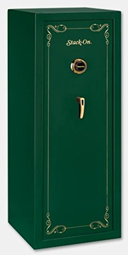 Stack-On SS-16-MG-C Combination Lock 16-Gun, Hunter Green