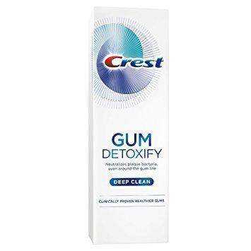 Crest Gum Detoxify Deep Clean Toothpaste, 4.1 Ounce