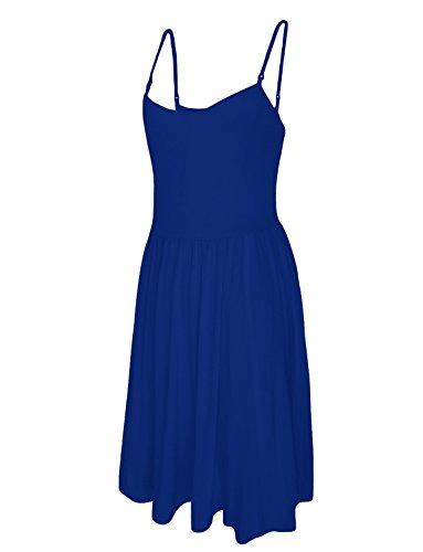 Tam Ware Femmes Bleu Amovible Robe Patineuse Bandoulière