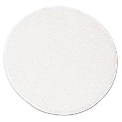 Rotary Yarn Carpet Bonnets, 21'' Diameter, White, 5/Carton