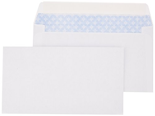 (AmazonBasics #6 3/4 Security-Tinted Envelopes with Peel & Seal, 300-Pack)