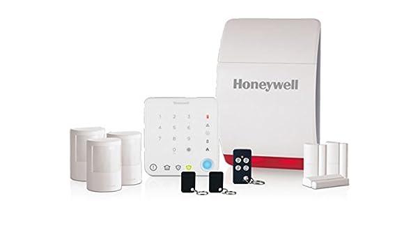 Honeywell Alarma inalámbrica HS351S para hogar familiar con ...
