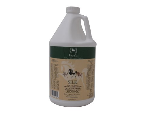 (Espana Silk ESP1125E Specially Formulated Silk Protein Detangler for Horses, 135.28-Ounce)