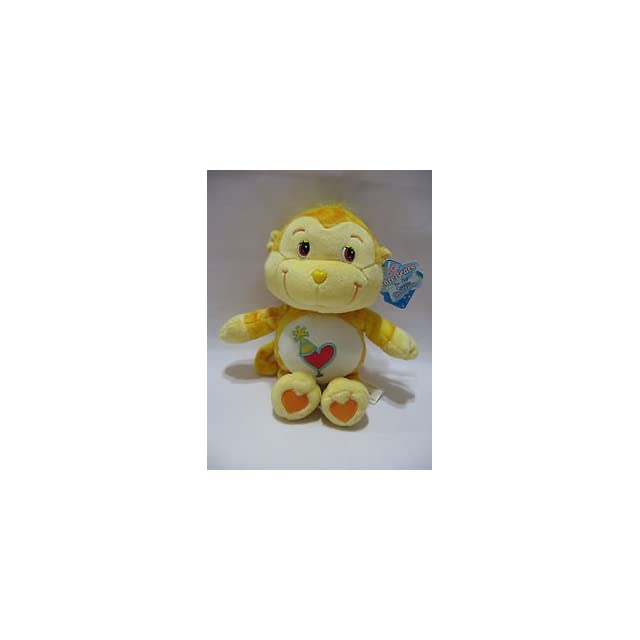 Care Bear Playful Heart Monkey Tie Dye Cousin 9 1/2 Plush