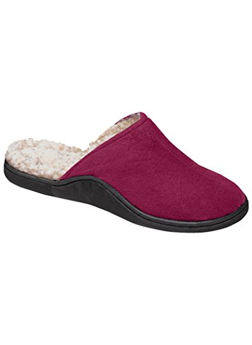 AmeriMark Womens Adult Cherry Clog Slipper Synthetic Clogs and Mules Shoes Complements Exclusives Berry LvPL6