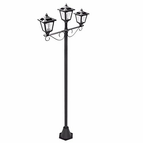 Outdoor Triple Lamp Post in Florida - 8