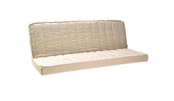 para Clic clac Espuma con Memoria de Forma colchón 55 kg/m3 + Espuma Poli LATTEX indeformable Tejido Strech Muy Resistentes - Confort Muy Granja - Altura 15 ...