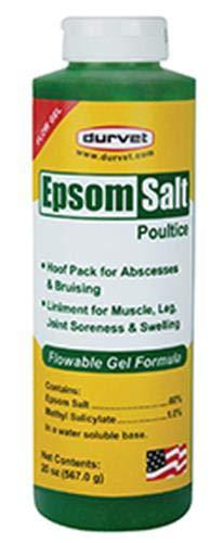Durvet/Equine 699664 Epsom Salt Poultice Flow Gel, 20 oz by Durvet/Equine