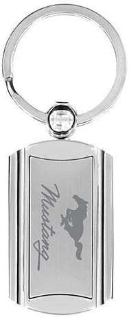 Ford Mustang Keychain /& Keyring Premium Rectangle