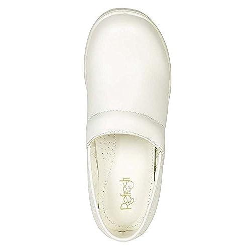 4ec16295cde32b Refresh Footwear Women s Slip-On Professional Work Comfort Clog delicate