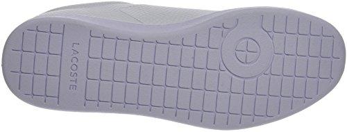 Lacoste Mens Carnaby Evo 417 2 Spm Sneaker Bianco (wht)