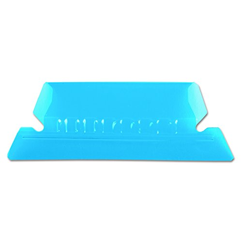 Pendaflex 42BLU Hanging File Folder Tabs, 1/5 Tab, Two Inch, Blue Tab/White Insert (Pack of 25)