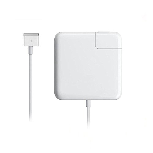 Macbook Air Charger, Ac 45w 2 ( T-Tip ) Connector Power Adapter Charger for MacBook Air 11-inch and 13 inch ( For Macbook Air Released after Mid 2012 )