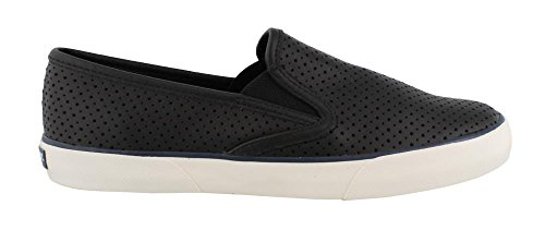 Women's Black Shoes Pier Sperry Side Slip on xYPqnYwr1