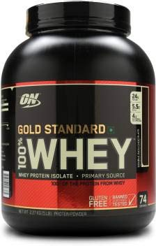 HLP Nutrients Optimum Nutrition Gold Standard 100% Whey Protein  5lbs, Double Rich Chocolate