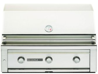 Sedona By Lynx 36-Inch Gas Grill - Built-In Propane Or Natural Gas BBQ Gas With Infrared ProSear Burner - L600PS-LP & L600PS-NG (36