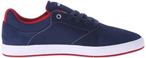 DC Mikey Taylor Low Top Chaussures pour hommes, EUR: 47, Navy/Red