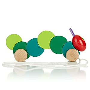 World of Eric Carle, The Very Hungry Caterpillar Wood Pull Toy