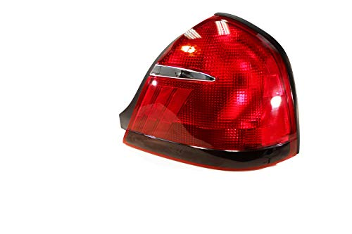 For 1999 2000 2001 2002 Mercury Grand Marquis Rear Tail Light Taillamp Passenger Side Replacement