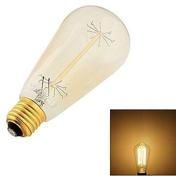JINLI Bulbs E26/E27 Bombillas LED de Globo B 9 Tungsten Filament Leds SMD Decorativa