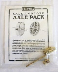 Used, Clarity Kaleidoscope Axle Pack for Image Disk and Wheel for sale  Delivered anywhere in USA