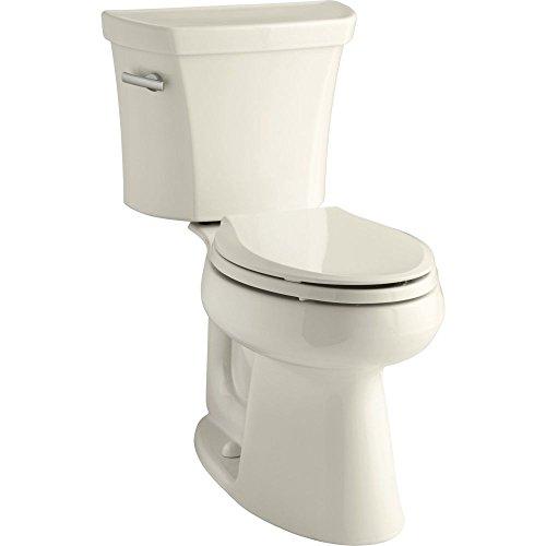 Kohler K-3979-47 Highline Comfort Height 1.6 gpf Toilet, Almond