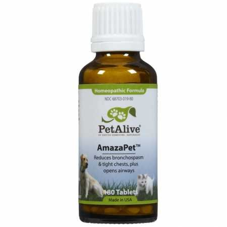 Amazon.com: PetAlive AmazaPet Tablets - A Homeopathic Remedy for ...