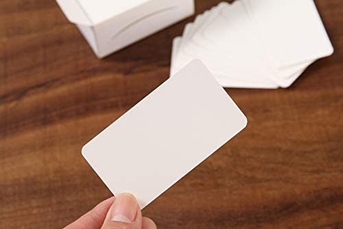 Blank Kraft Paper Business Cards Word Card Message Card DIY Crafts CH