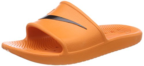 Shower solar Nike Kawa Orange Sneakers Basses Homme Multicolore Orange black 001 solar R5Aq5