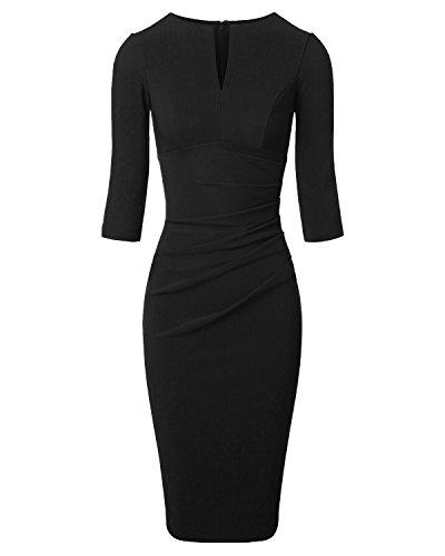 evening dresses 3 4 length - 5