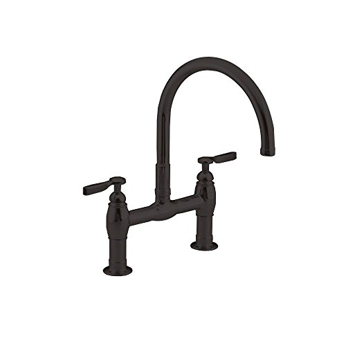 Kohler K-6130-4-2BZ Parq Two-Hole Deck-Mount Kitchen Sink Faucet with 9