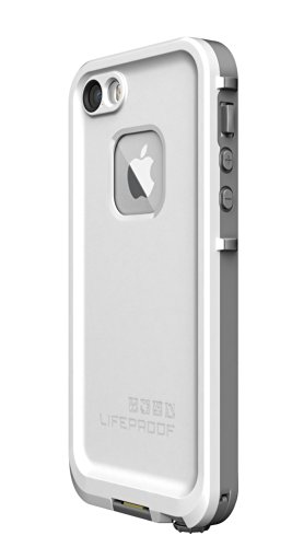 Lifeproof iPhone 5S Fre Carrying Case - Retail Packaging - White/Gray