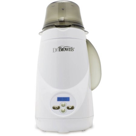Dr. Brown's Deluxe Bottle Warmer | 1-Button Start | LCD Control Panel (Bottle ()