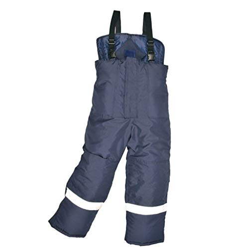 - Brite Safety Coldstore Pants - Thermal Insulated Reflective Extreme Cold Workwear Pant For Men and Women (Navy,2XL)