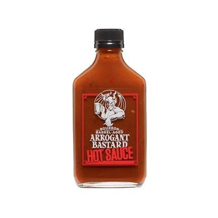Arrogant Bastard Hot Sauce Bourbon Barrel-Aged 7.2oz 1 Pack
