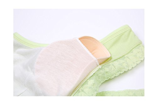 bra nursing pad maternity style vest breast rims without Green Lace without kairuigeli cross underwear wHzZq