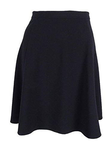 A-line Skirt Tahari (Tahari Women's Petite Seamed A-Line Skirt (14P, Navy))