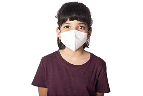 Mediweave Kids KN95 Face Mask, CE Certified, White (Pack of 5) Price & Reviews