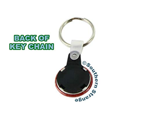 I Love You To The Tomb /& Back Keychain