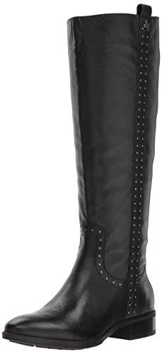 Sam Edelman Women's Prina 2 Knee High Boot, Black Leather, 7.5 M US