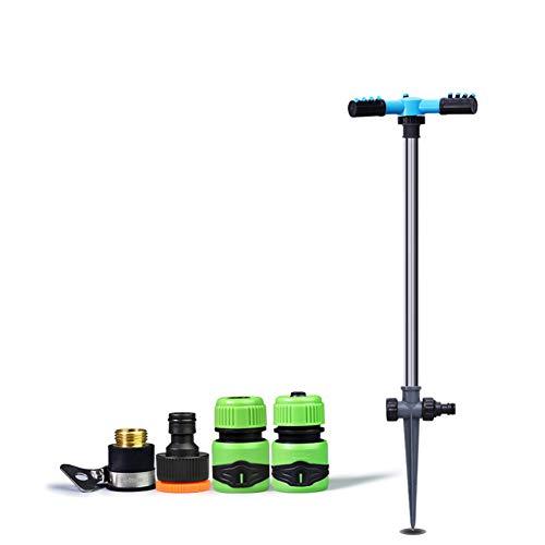Aspersores De Riego Automatico Rotación 360 °, Especialmente Alto Aspersor Flexible Para Jardín