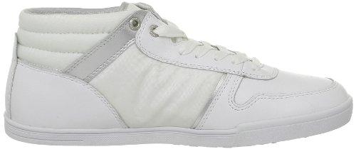Redskins - Zapatillas de Deporte de cuero Hombre Blanco - blanco