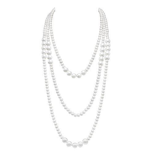 So Pretty Long Pearl Necklace for Women 69
