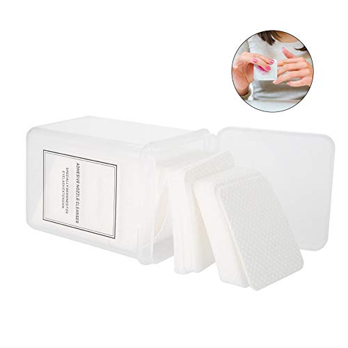 Set Nail Cotton Pad Paper Manicure Polish Gel Remover Cleaner Wipe Lint Free Cotton Pad(200Pcs)