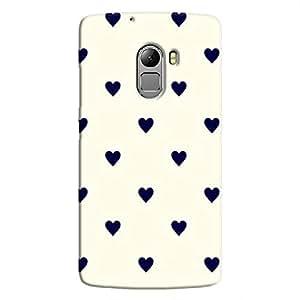 Cover It Up - Purple Hearts K4 NoteHard Case