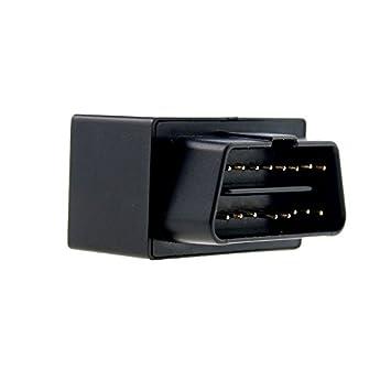 Wewoo localizador GPS Coche OBD II Vehículo Camión Seguimiento en Tiempo Real gsm GPRS Tracker + Bds + AGPS + lbs: Amazon.es: Coche y moto