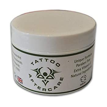 5240f4ad1 Amazon.com: Tattoo Aftercare 100g Studio Size Large Jar Super Healer ...