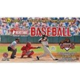 2017 Topps Heritage Minor League Baseball Hobby Box (18 Packs of 8 Cards: 1 Autograph, 1 Memorabilia)