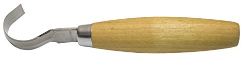 Morakniv Wood Carving Hook Knife 162 with Sandvik Stainless Steel Blade, 0.6-Inch Internal Radius