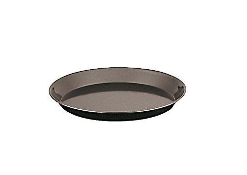 Paderno World Cuisine 11744-32 Blue Steel Heavy Duty Baking Pan, Large, Black by Paderno World Cuisine